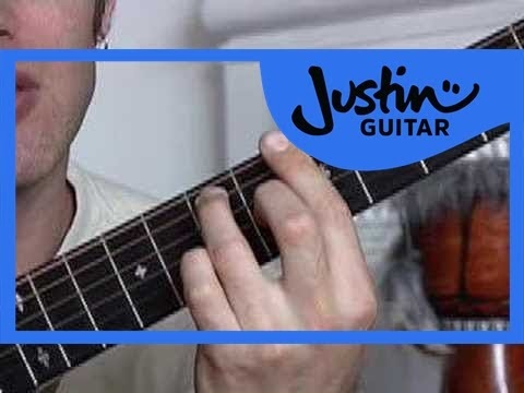 Basic Barré Chords #2of4 (Guitar Lesson CH-006) How to play thumbnail