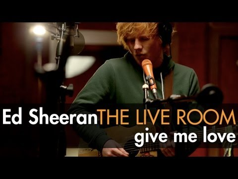 "Ed Sheeran - ""Give Me Love"" captured in The Live Room thumbnail"