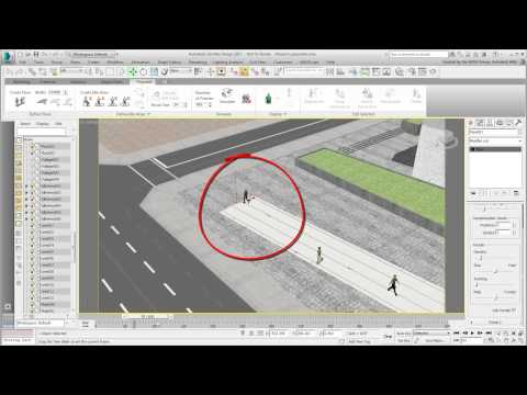 Revit Interoperability - Part 18 - Animating Pedestrians using Populate thumbnail