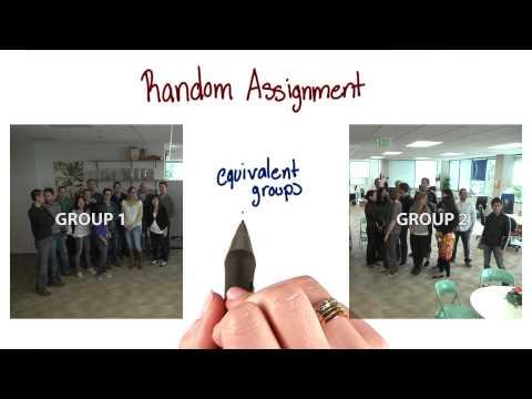 Random assignment thumbnail