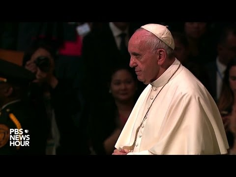 Watch Pope Francis' full address to the UN General Assembly thumbnail