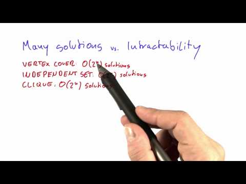 05-08 Many Solutions Vs Intractability thumbnail