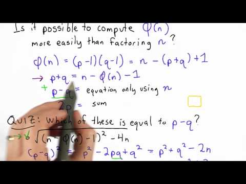 Totient and Factoring - Applied Cryptography thumbnail