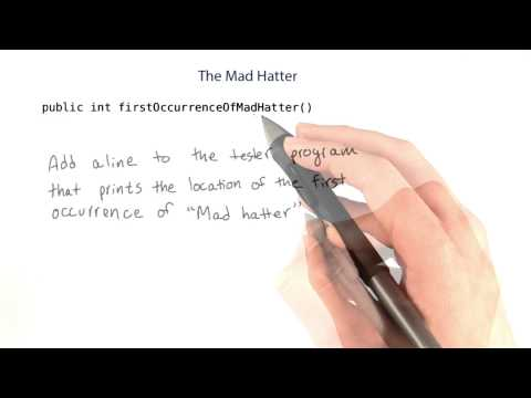 Mad Hatter - Intro to Java Programming thumbnail