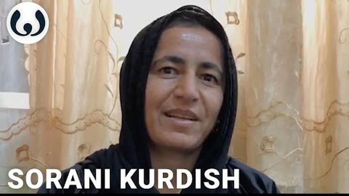 Listen to the Kurdish language in Iraq | Xatun speaking Sorani | Wikitongues