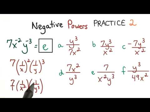 Negative Exponents 2 - Visualizing Algebra thumbnail