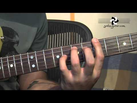 12 Bar Blues Sequence Variations (Blues Rhythm Guitar - Guitar Lesson BL-203) How to play thumbnail