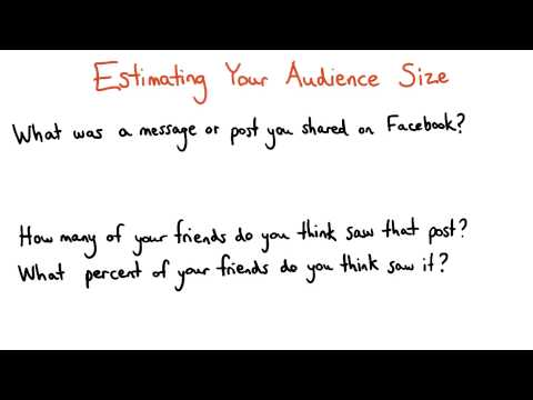 Estimating Your Audience Size - Data Analysis with R thumbnail