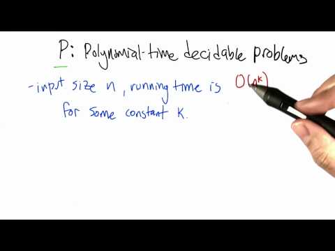 Polynomial Time Decidable Problems - Intro to Algorithms thumbnail