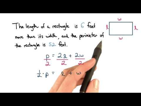 Perimeter Quiz - Visualizing Algebra thumbnail