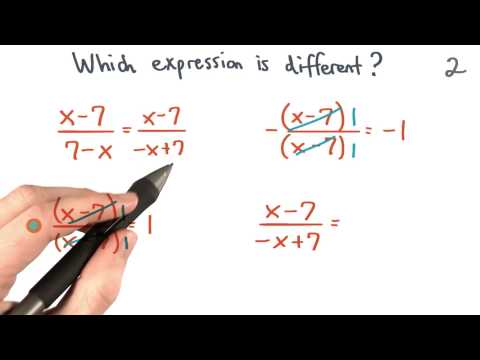 The Different Expression 2 - Visualizing Algebra thumbnail