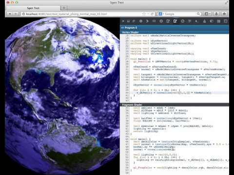 WebGL Shader Editor - Firefox Developer Tools thumbnail