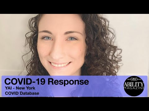 COVID-19 Response - YAI, New York - COVID Database for people with IDD. thumbnail