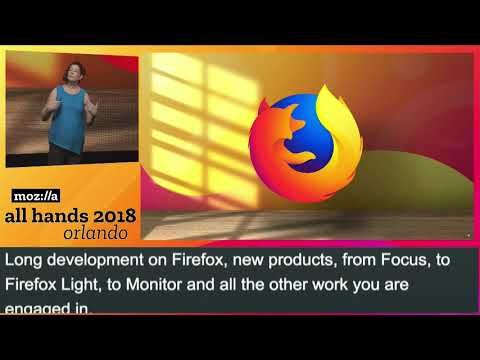 Mitchell Baker Plenary - Mozilla All Hands, December 2018 thumbnail