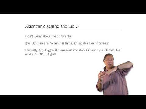 Computation in Complex Systems : Easy & Hard : BigO and All That thumbnail