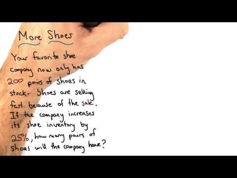 increasing shoe stock thumbnail