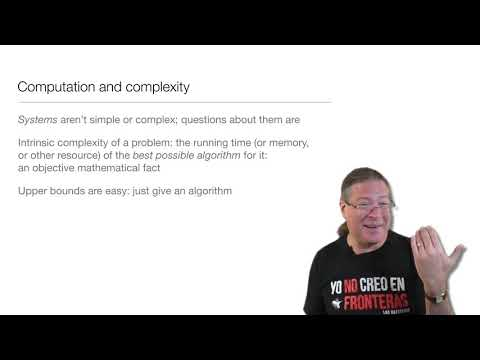 Computation in Complex Systems : Algorithms & Landscapes : Complexity Wrap-Up thumbnail