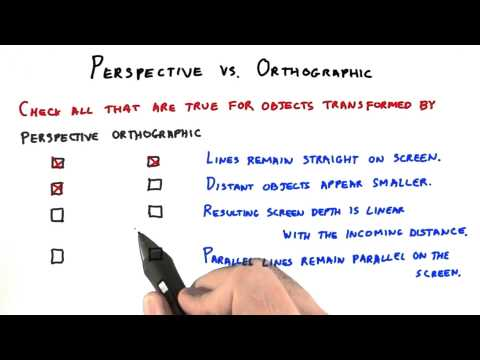 Perspective vs Orthographic - Interactive 3D Graphics thumbnail