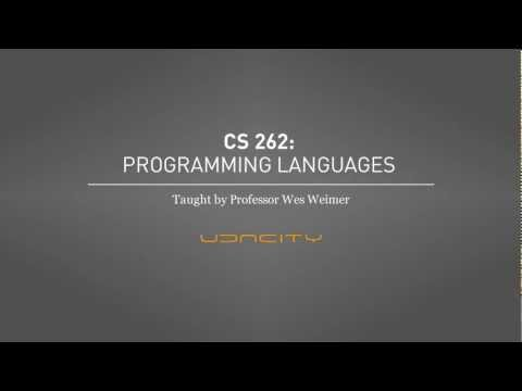 CS262: Programming Languages thumbnail