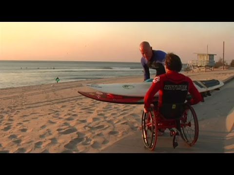 "Handicapped & Wheel-Chair Bound Surfers Keep Surfing! - ""Charlie Don't Surf"" (Full Documentary) thumbnail"