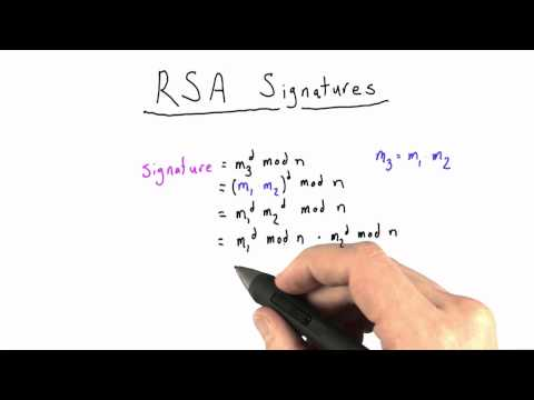 RSA SIgnature Solution - Applied Cryptography thumbnail