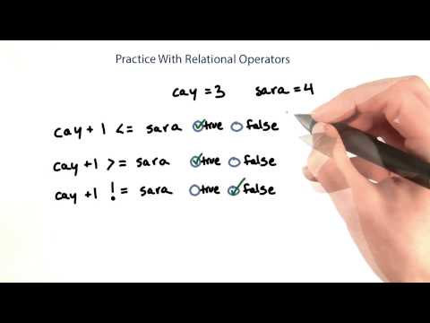 Practice With Relational Operators - Intro to Java Programming thumbnail