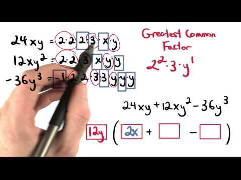 GCF Practice 1 - Visualizing Algebra thumbnail