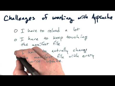 Appcache challenges - Mobile Web Development thumbnail