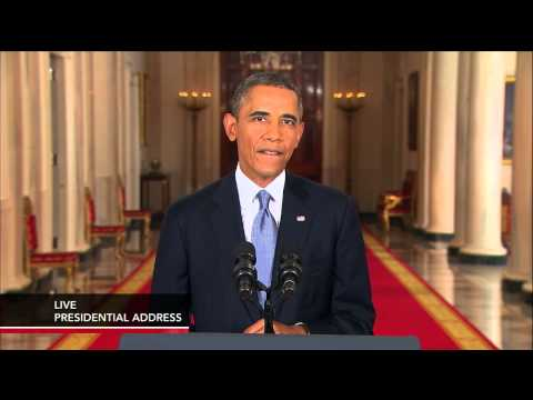 Watch President Barack Obama Address the Nation on the Syria Debate thumbnail