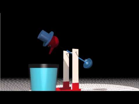 Drinking Bird Simulation - Interactive 3D Graphics thumbnail