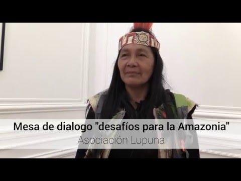 """Mesa de dialogo """"desafíos para la Amazonia"""" con Gloria Ushigua thumbnail"""