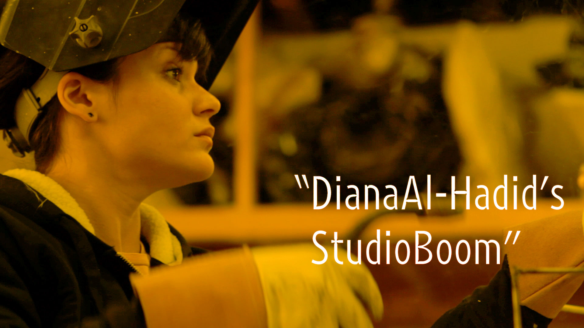 "Diana Al-Hadid's Studio Boom | ""New York Close Up"" 