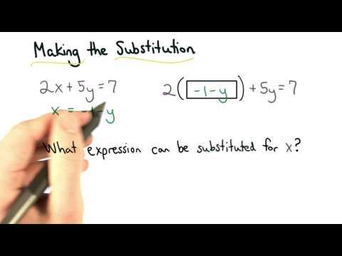 Substitution Expression - Visualizing Algebra thumbnail