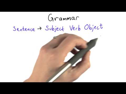 Grammar - Intro to Computer Science thumbnail