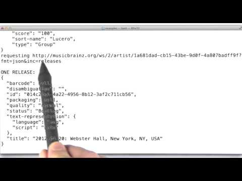 JSON Playground - Data Wranging with MongoDB thumbnail