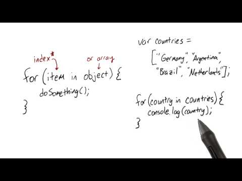 For-In Loops Quiz - JavaScript Basics thumbnail