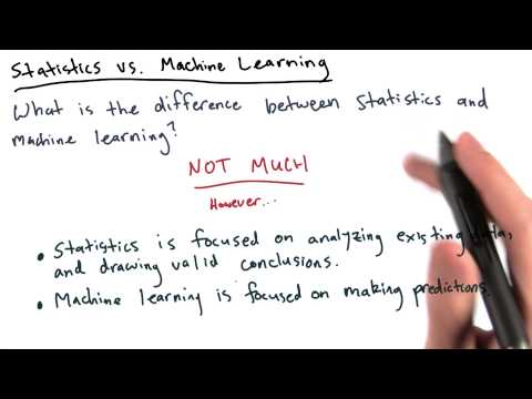 Stats vs Machine Learning - Intro to Data Science thumbnail