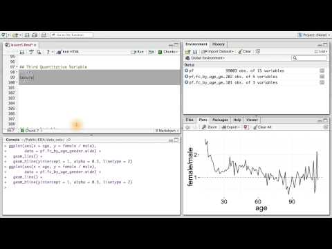 Third Quantitative Variable - Data Analysis with R thumbnail