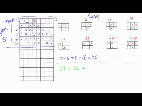 Elementary Cellular Automaton - Intro to Computer Science thumbnail