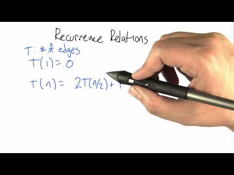 Recurrence Relation - Intro to Algorithms thumbnail