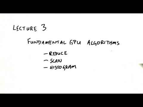 Fundamental GPU Algorithms - Intro to Parallel Programming thumbnail