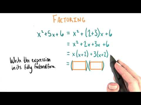 Factor Fully - College Algebra thumbnail
