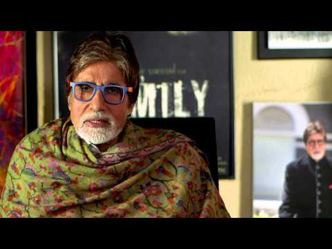 Amitabh Bachchan says help us make violence against children disappear.  thumbnail