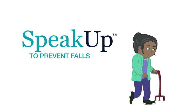 Speak Up to Prevent Falls English
