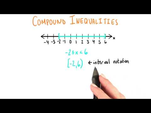 Interval Notation - College Algebra thumbnail