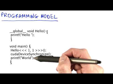 Programming Model - Intro to Parallel Programming thumbnail
