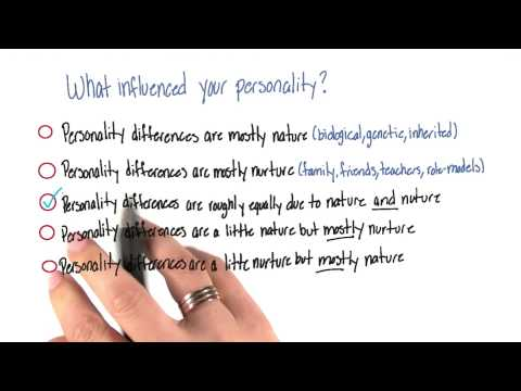 What influenced your personality - Intro to Psychology thumbnail