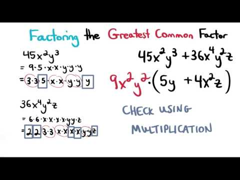 Check Factoring with Multiplication - Visualizing Algebra thumbnail