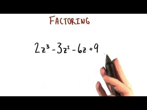 Factor All the Way - College Algebra thumbnail