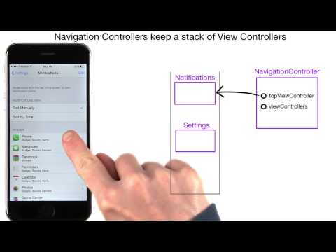 Navigation and the Stack Data Structure - UIKit Fundamentals thumbnail